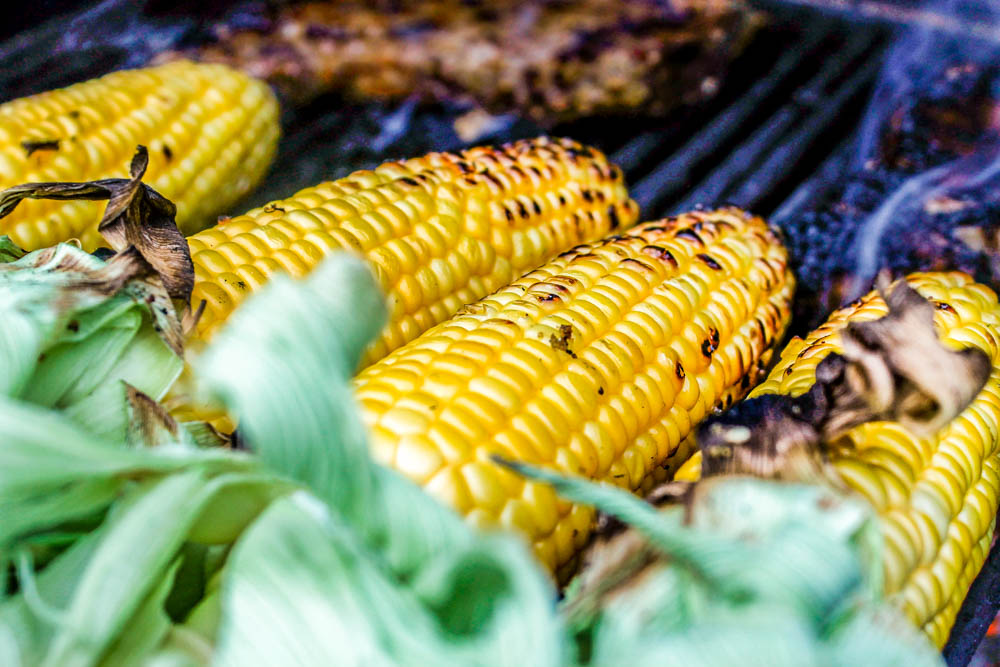 Nord's Coal Kissed Corn on the Cob