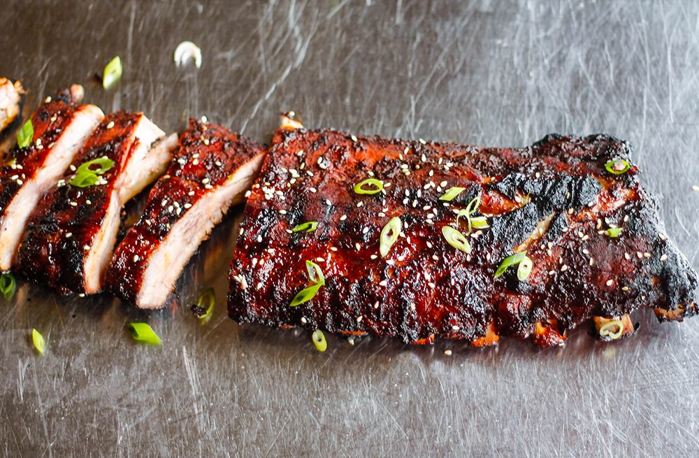 Hasty Bake Asian Bbq Smoked Ribs Hasty Bake Grill