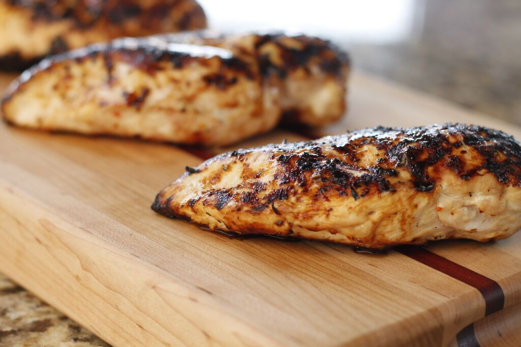 how to cook bone in chicken breast on charcoal grill