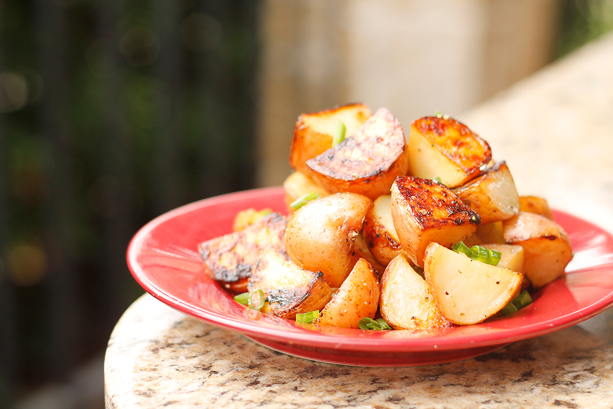 Grilled New Potatoes