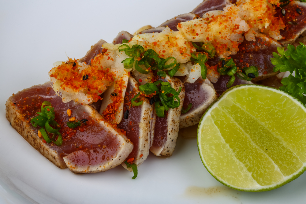 Seared Ahi Tuna w/Hasty-Bake Rub and Spice